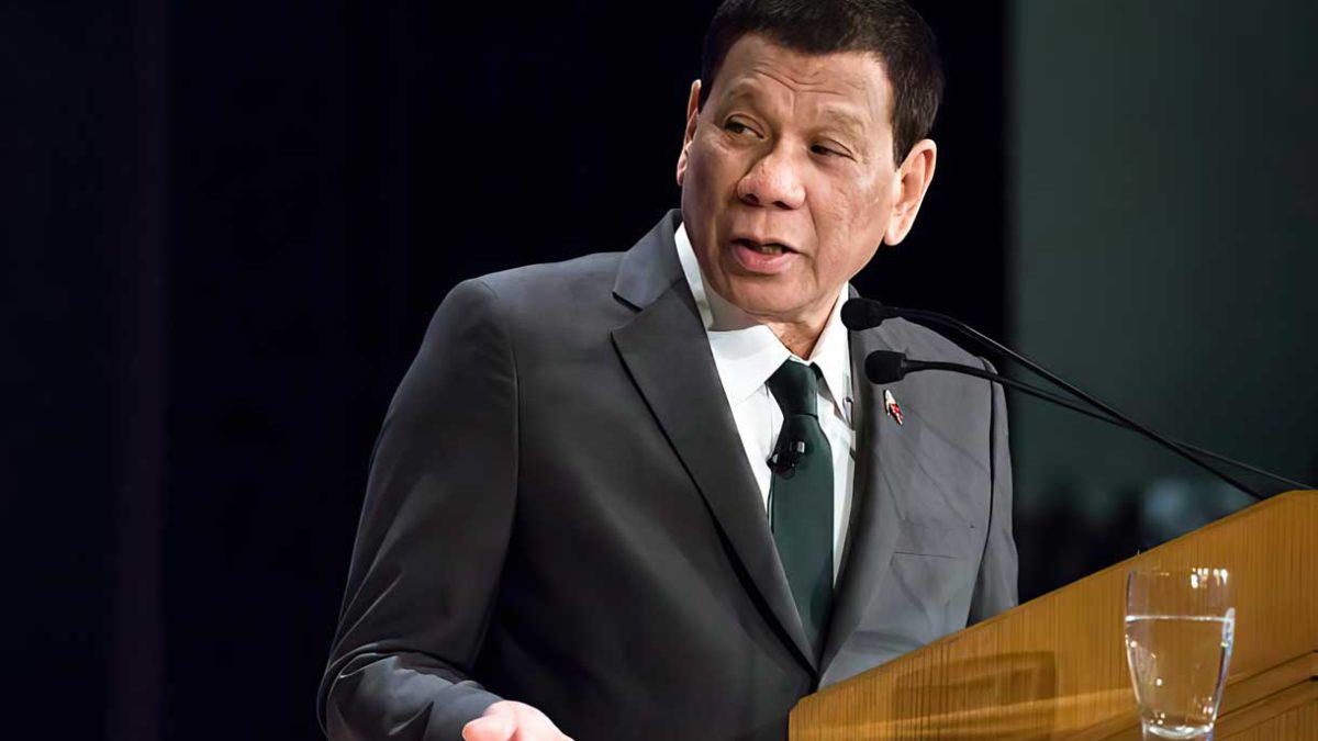El presidente Duterte de Filipinas anuncia su retiro de la política