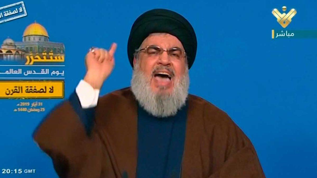 Nasrallah al gabinete libanés: Pedir a EE.UU. una exención de sanciones