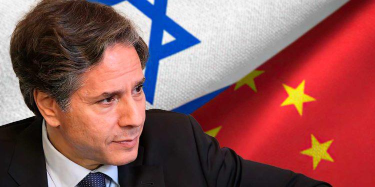 Estados Unidos advierte a Israel: Los lazos con China son un riesgo para la seguridad nacional conjunta
