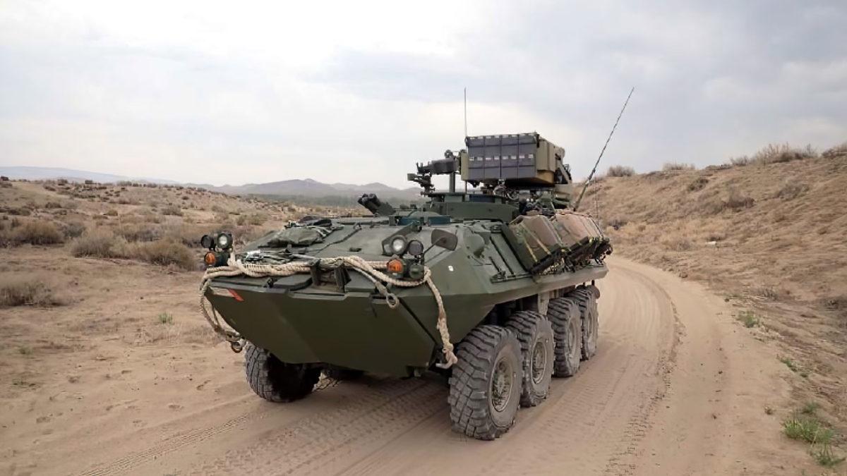 UVision de Israel armará a los vehículos blindados de ruedas con munición de ataque de merodeo