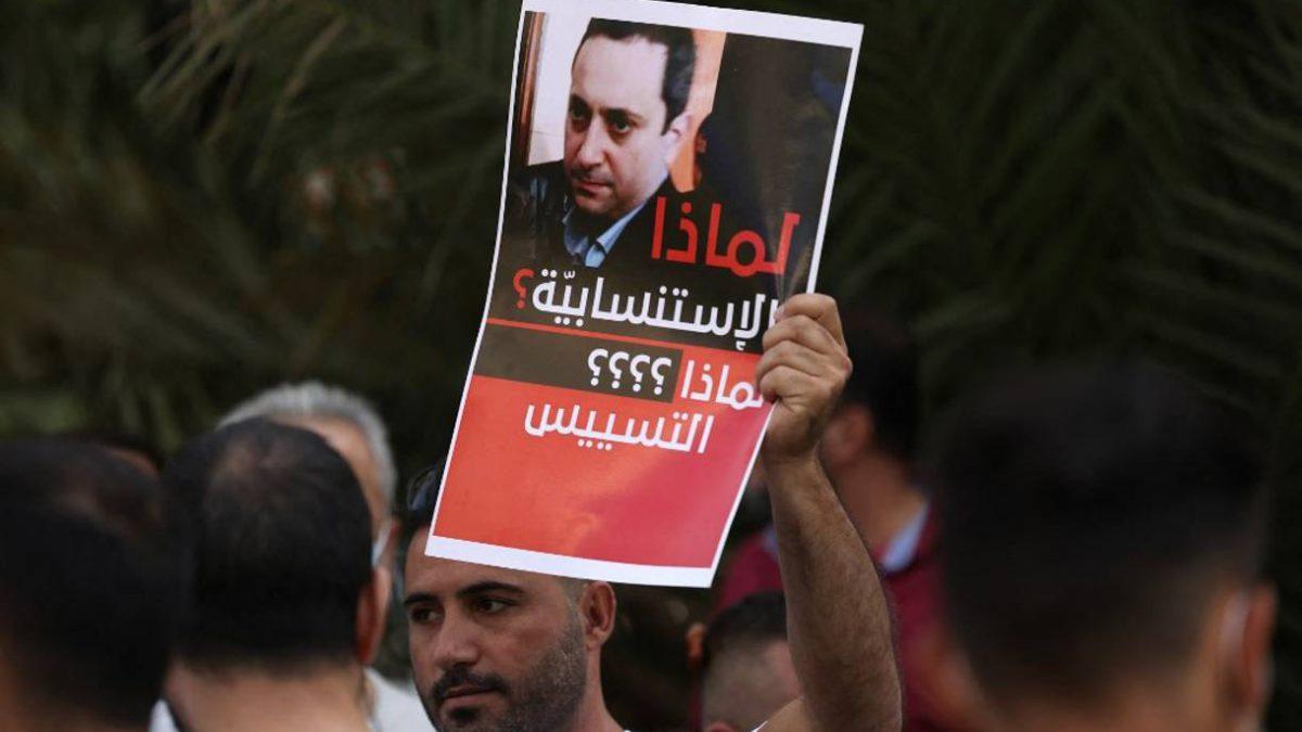 El juez en el centro de una potencial nueva guerra civil en el Líbano