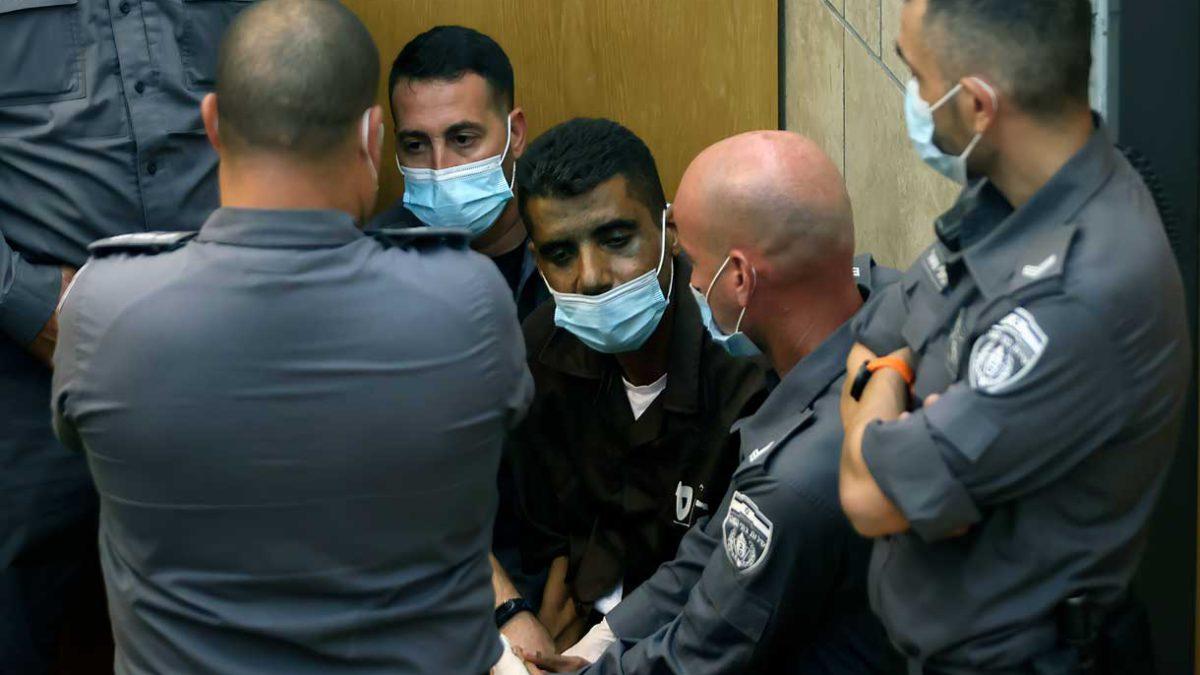 Terroristas que habían escapado de la cárcel de Gilboa fueron dispersados a 5 prisiones diferentes