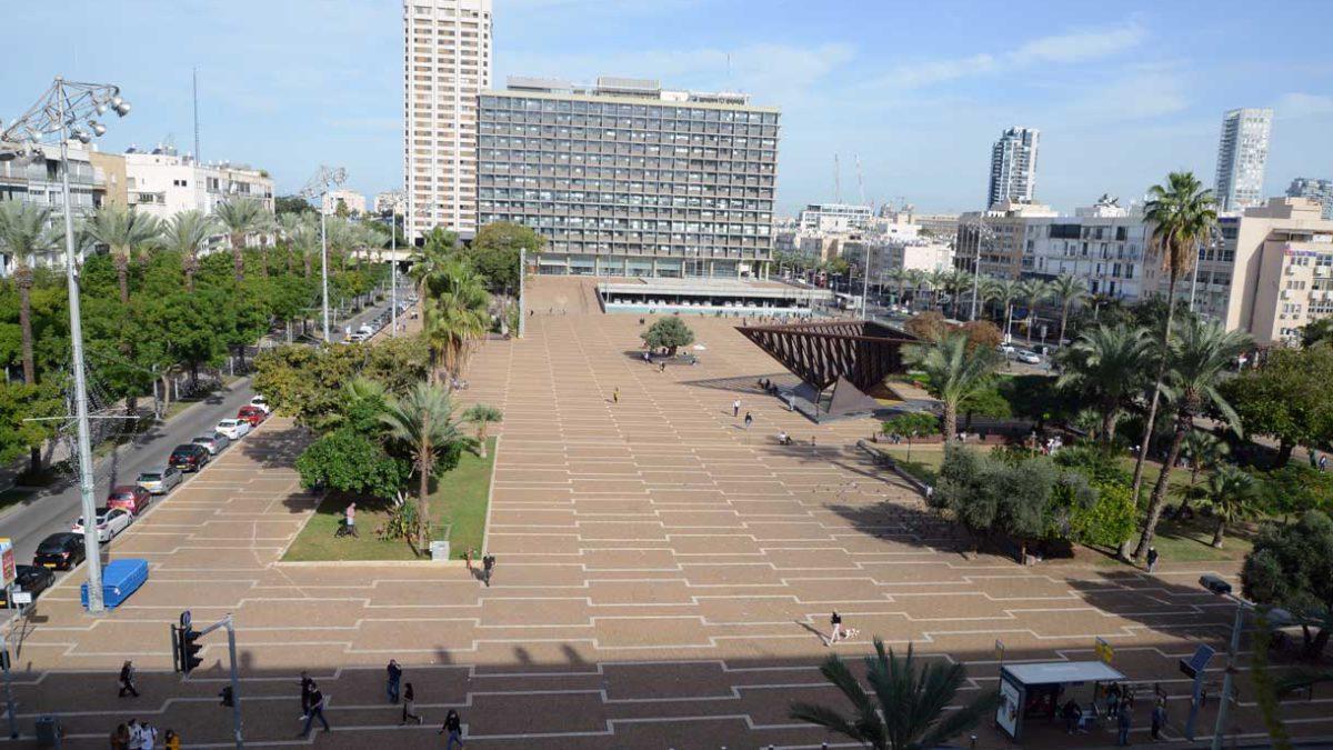 Comienzan las obras de la estación de tren ligero de la plaza Rabin de Tel Aviv