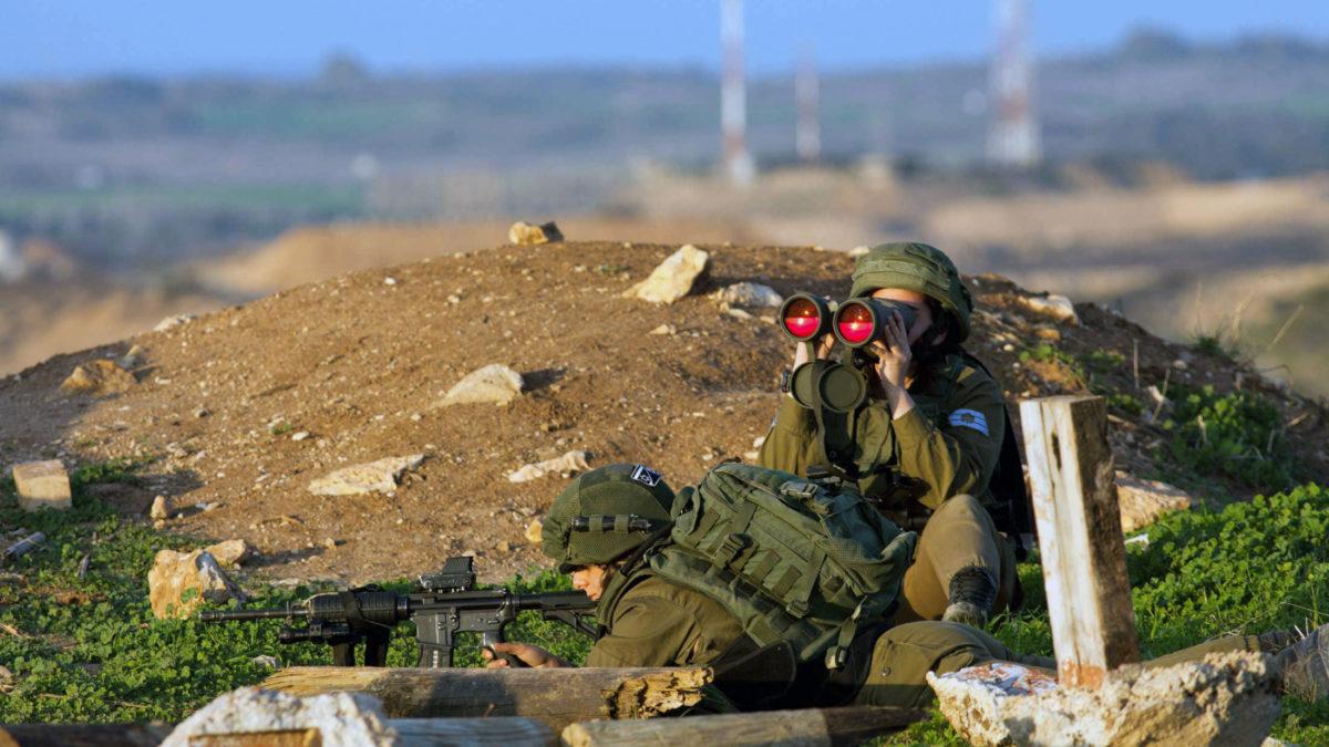 """La """"Unidad Roja"""" de las FDI: Unidad femenina que desafía a las tropas antes de ir a la guerra"""