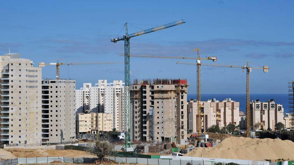 La venta de viviendas nuevas en Israel sigue disparándose